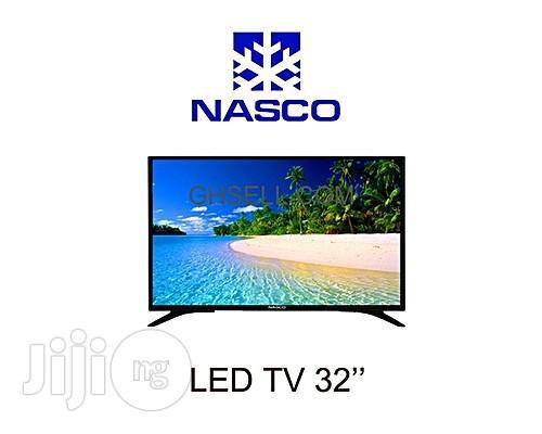 """Nasco Digital LED TV 32"""" With Inbuilt Decoder"""