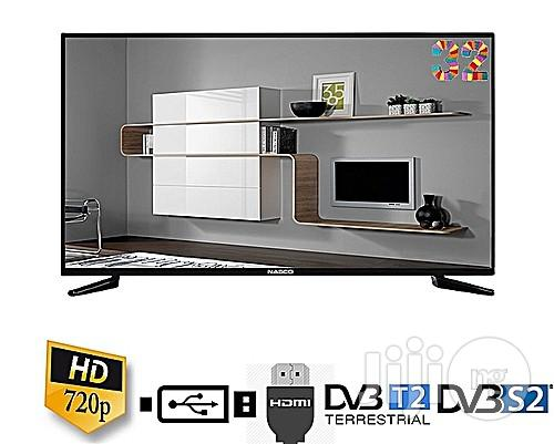 "NASCO Nasco 32"" Digital LED TV With Inbuilt Decoder"