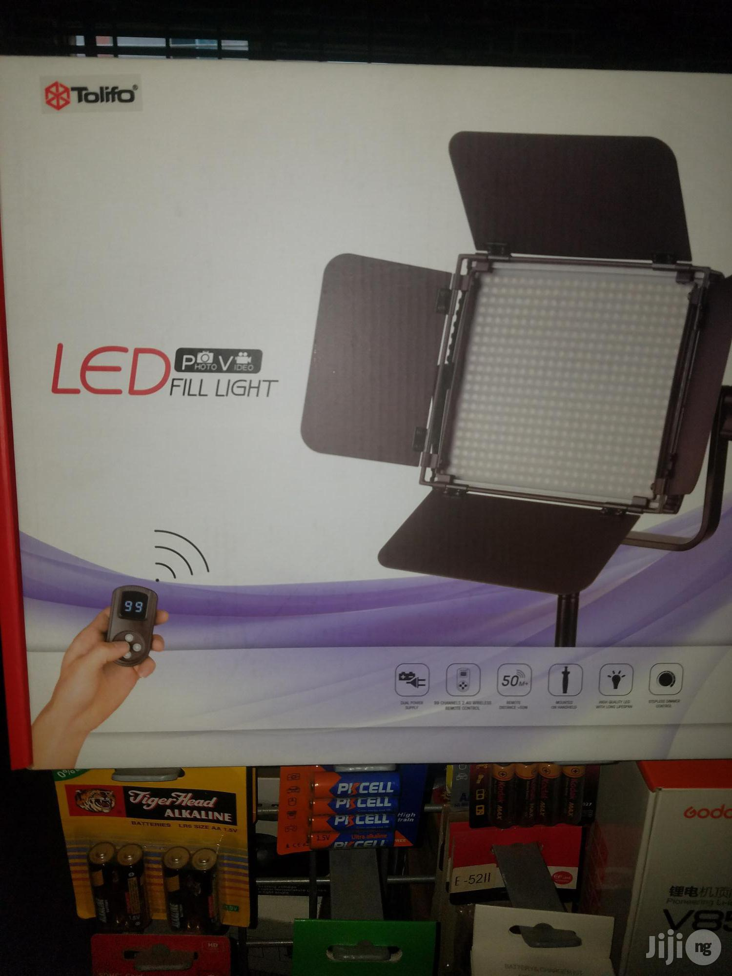 Tolifo Led Video Light With Stand