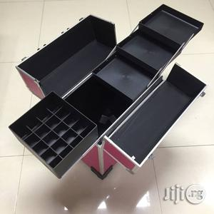 Makeup Trolley Box Metallic   Tools & Accessories for sale in Lagos State, Amuwo-Odofin