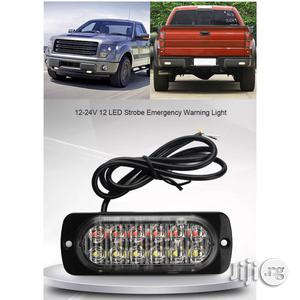 12 - 24V Van/Car/Truck LED Flash Strobe Emergency Warning Flashing Light.   Vehicle Parts & Accessories for sale in Imo State, Owerri