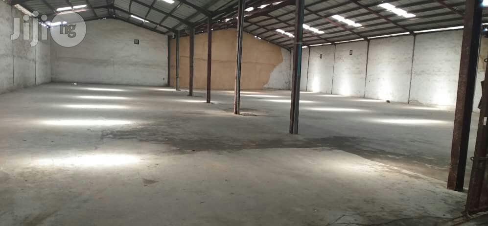 Warehouse For Lease With 2 Storey Building Office Space Along Oshodi Apapa Express Way | Commercial Property For Rent for sale in Oshodi, Lagos State, Nigeria