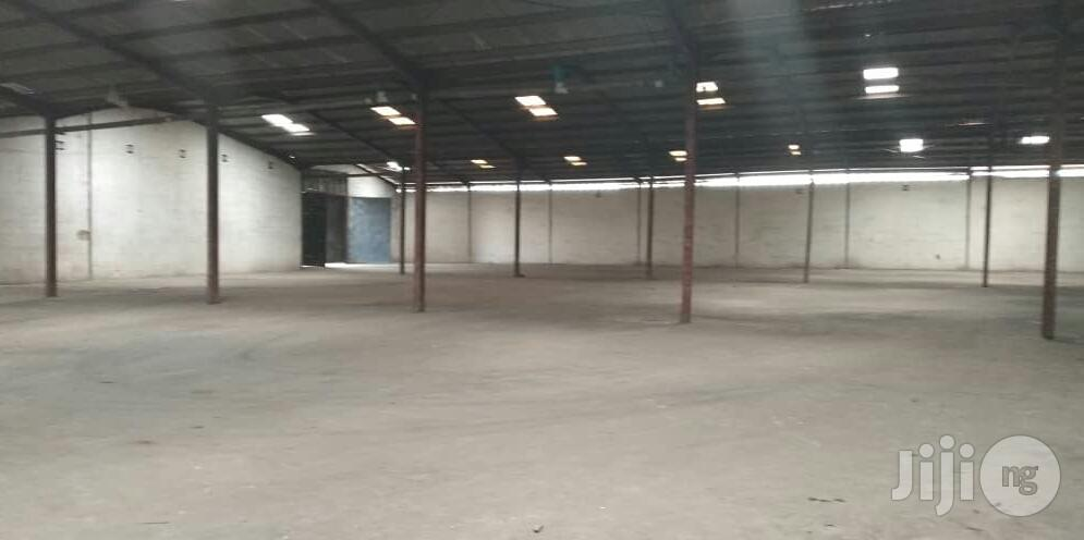 Warehouse For Lease With 2 Storey Building Office Space Along Oshodi Apapa Express Way