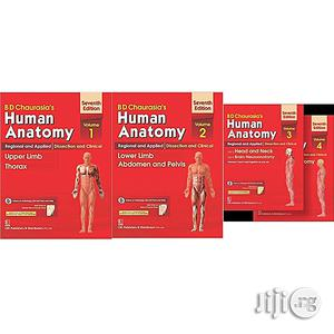 Human Anatomy: Regional And Applied Dissection And Clinical Volume 1 - 4 | Books & Games for sale in Lagos State, Oshodi