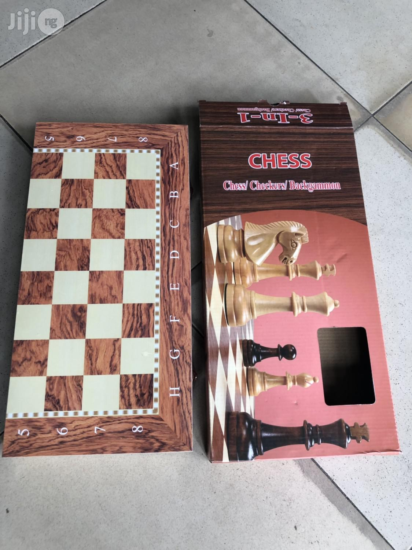 Tournament Chess Board (Wooden)