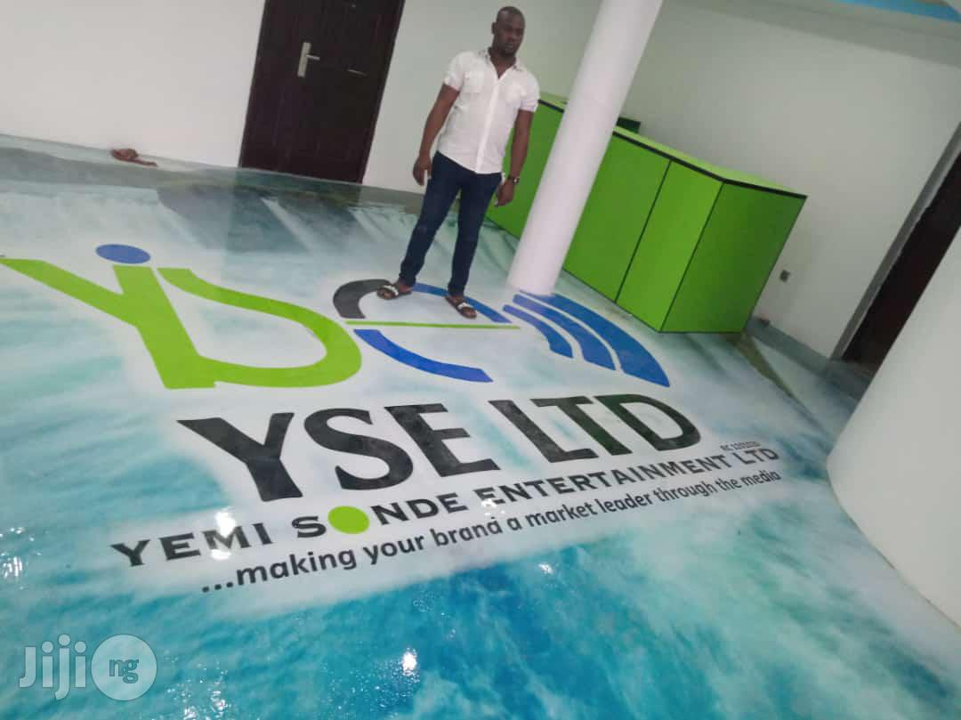 Become An Expert Of Epoxy Flooring, Stamped Concrete | Classes & Courses for sale in Ikeja, Lagos State, Nigeria