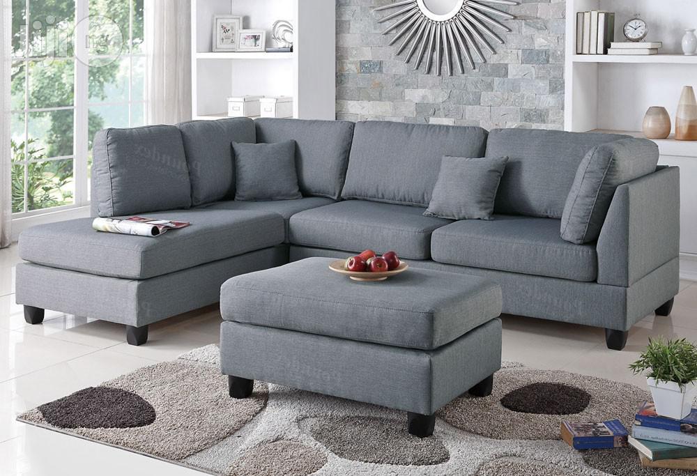 Archive: L Shape Corner Sofa + Ottoman