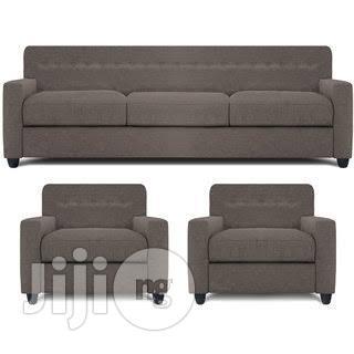 Prenton 5 Seater Sofa Set + Free Throw Pillows