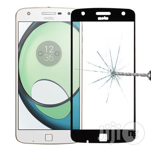 Motorola Moto Z Play 0.26mm 9H Surface Hardness 2.5D Full Screen Tempered Glass Screen Protector(Black)