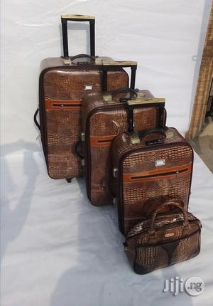 Wealth Fancy 4'in 1 Luggages (Brown)   Bags for sale in Lagos State, Ikeja