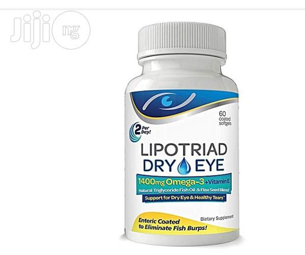 Archive: Lipotriad Dry Eye Formula - 1400mg Omega-3 Supplement