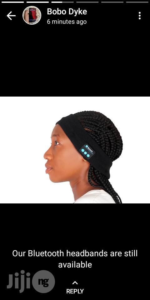 Archive: Bluetooth Headand