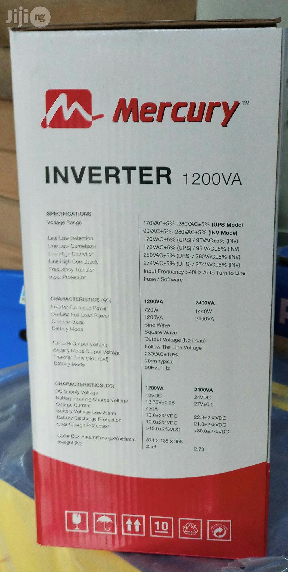 1.2kva Mercury Radian Inverter