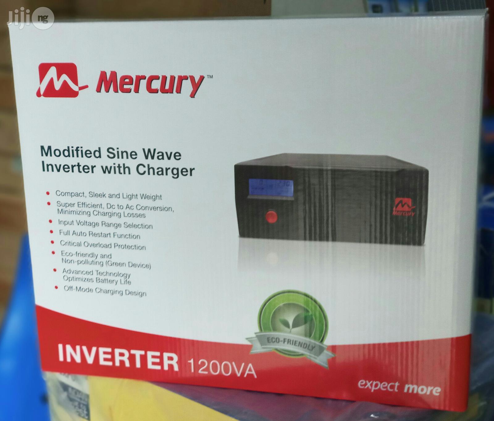 1.2kva Mercury Radian Inverter | Solar Energy for sale in Uyo, Akwa Ibom State, Nigeria