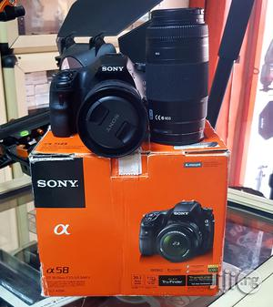 Sony DSLR Camera Alpha A58 With 18-55mm+70-300mm Lens | Photo & Video Cameras for sale in Lagos State, Ikeja