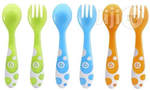 USA Munchkin 6 Piece Fork And Spoon Set
