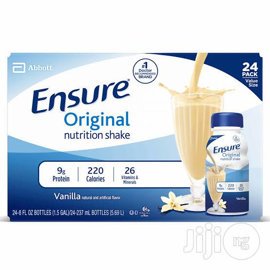 Archive: Ensure Original Vanilla Flavour By 24