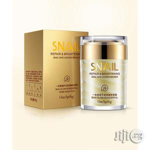 Natural Snail Cream Facial Moisturizer Face Cream Whitening Ageless Anti Wrinkles | Skin Care for sale in Lagos State, Surulere