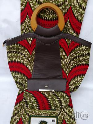 Italian Made Ankara Bags With 6yards Wax And Purse Iv | Bags for sale in Ebonyi State, Abakaliki