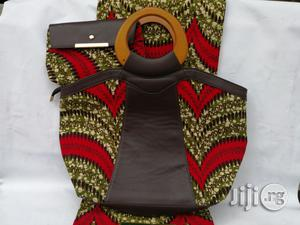 Italian Made Ankara Bags With 6yards Wax And Purse Ix | Bags for sale in Edo State, Benin City