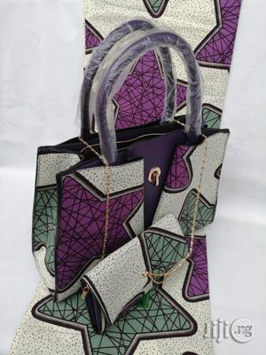 Italian Made Ankara Bags With 6yards Wax and Purse Xxvi | Bags for sale in Gombe State, Gombe LGA