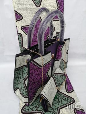 Italian Made Ankara Bags With 6yards Wax and Purse Xxvii | Bags for sale in Imo State, Owerri