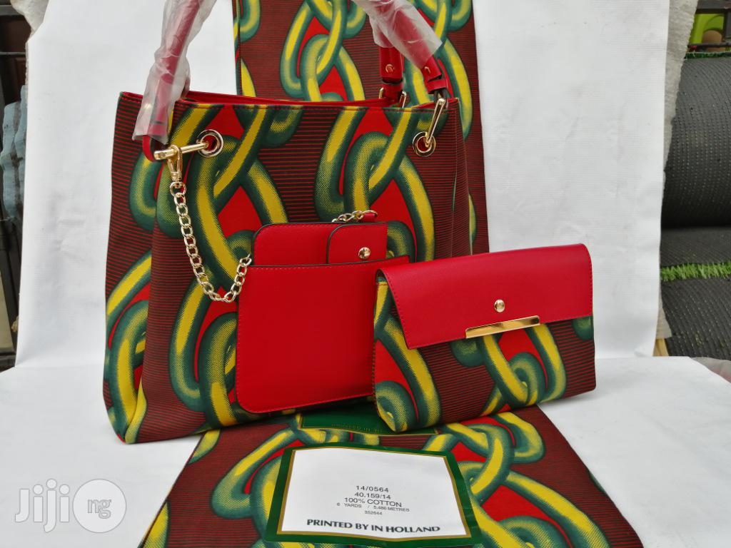 Italian Made Ankara Bags With 6yards Wax and Purse.Needed #Re-Seller/Bulk Buyers Ii