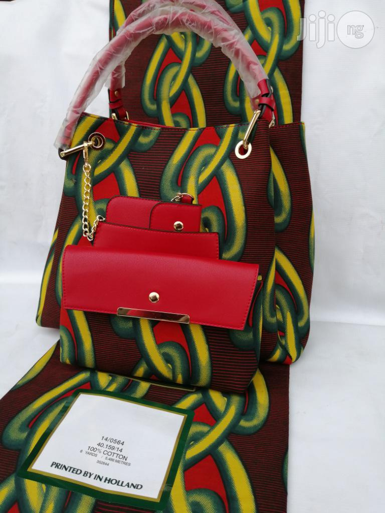 Italian Made Ankara Bags With 6yards Wax and Purse.Needed #Re-Seller/Bulk Buyers V