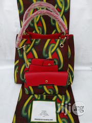 Italian Made Ankara Bags With 6yards Wax And Purse | Bags for sale in Kebbi State, Birnin Kebbi