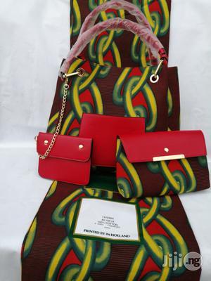 Italian Made Ankara Bags With 6yards Wax and Purse.Needed #Re-Seller/Bulk Buyers Viii | Bags for sale in Kebbi State, Birnin Kebbi