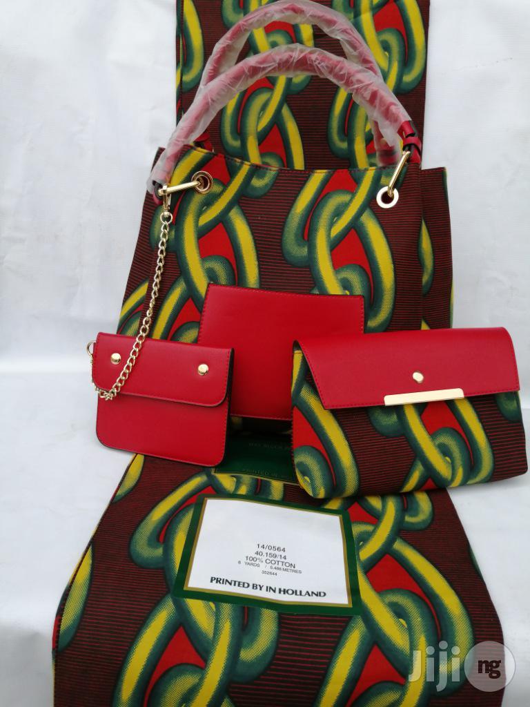 Italian Made Ankara Bags With 6yards Wax and Purse.Needed #Re-Seller/Bulk Buyers Viii