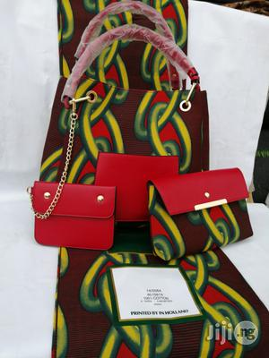 Italian Made Ankara Bags With 6yards Wax and Purse.Needed #Re-Seller/Bulk Buyers X | Bags for sale in Kebbi State, Birnin Kebbi