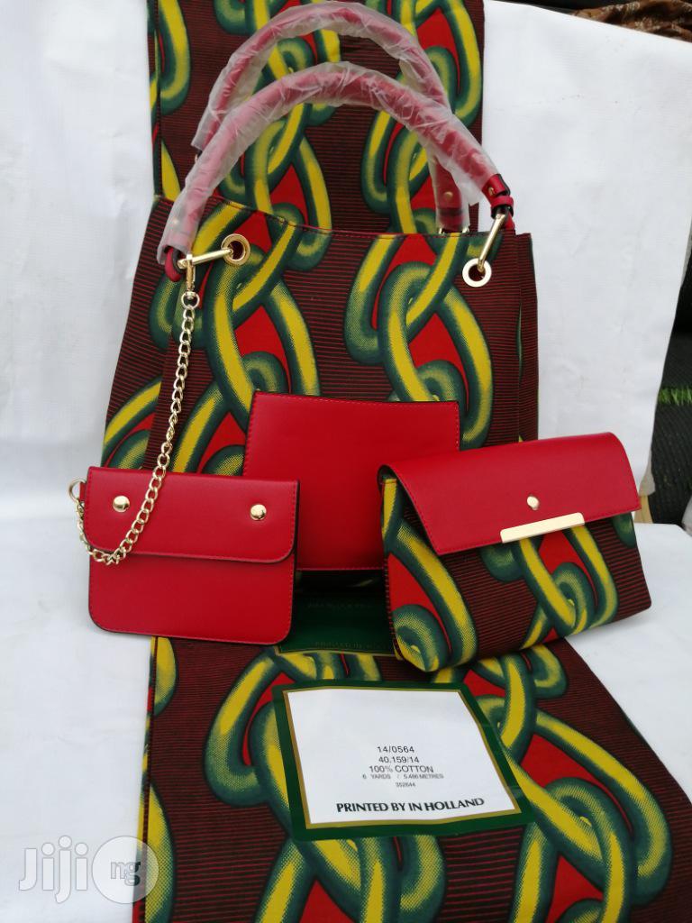 Italian Made Ankara Bags With 6yards Wax and Purse.Needed #Re-Seller/Bulk Buyers X