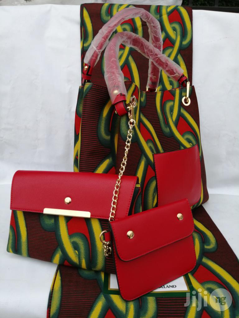 Italian Made Ankara Bags With 6yards Wax and Purse.Needed #Re-Seller/Bulk Buyers Xiv
