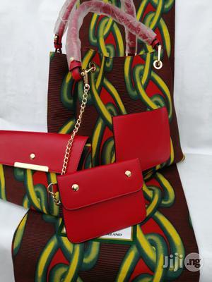 Italian Made Ankara Bags With 6yards Wax and Purse.Needed #Re-Seller/Bulk Buyers Xv | Bags for sale in Kogi State, Lokoja
