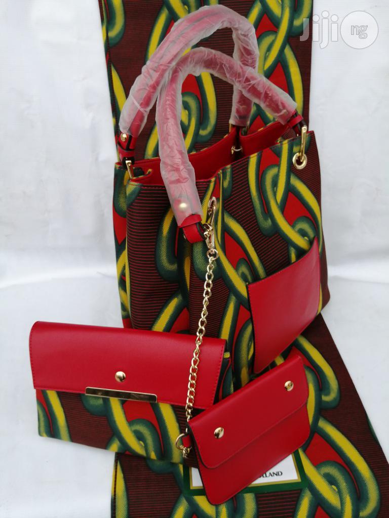 Italian Made Ankara Bags With 6yards Wax and Purse.Needed #Re-Seller/Bulk Buyers Xvii
