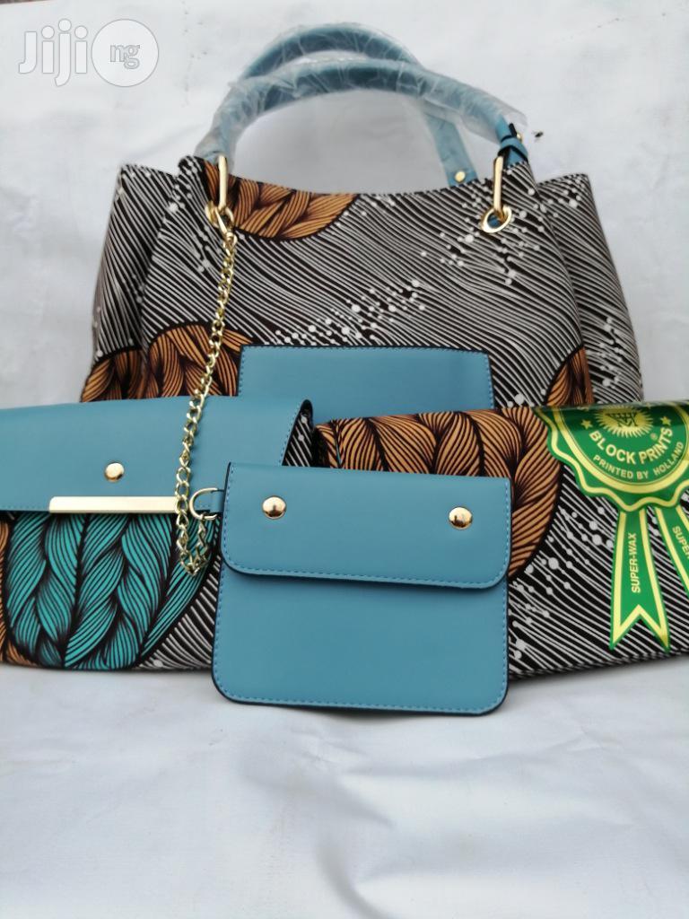 Italian Made Ankara Bags With 6yards Wax and Purse.Needed #Re-Seller/Bulk Buyers Xxi