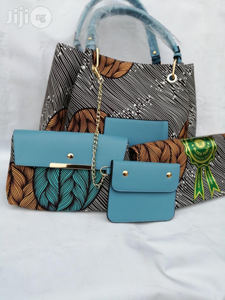 Italian Made Ankara Bags With 6yards Wax and Purse.Needed #Re-Seller/Bulk Buyers Xxv