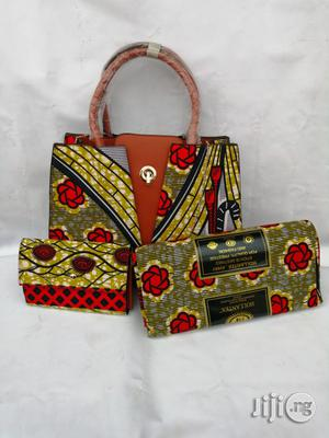 Italian Made Ankara Bags With 6yards Wax and Purse.Needed #Re-Seller/Bulk Buyers Xxx | Bags for sale in Nasarawa State, Lafia
