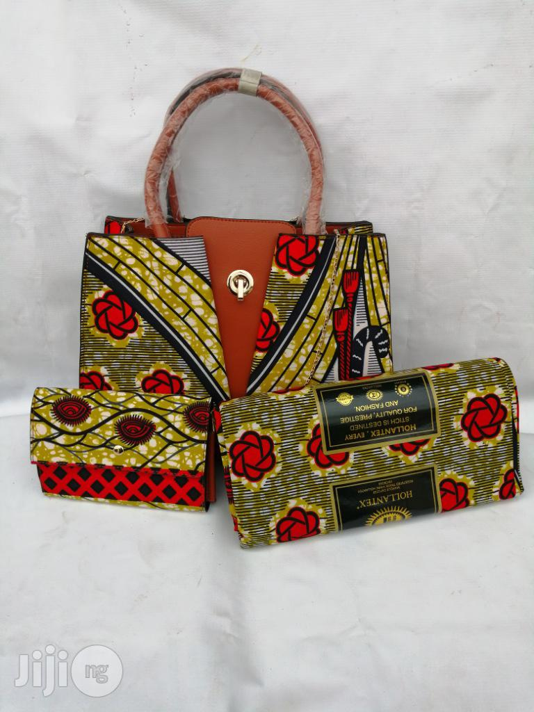 Italian Made Ankara Bags With 6yards Wax and Purse.Needed #Re-Seller/Bulk Buyers Xxx