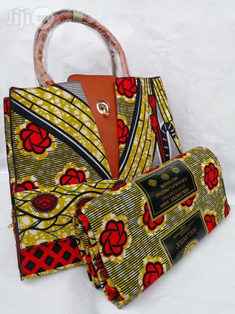 Italian Made Ankara Bags With 6yards Wax and Purse.Needed #Re-Seller/Bulk Buyers Xxxvii