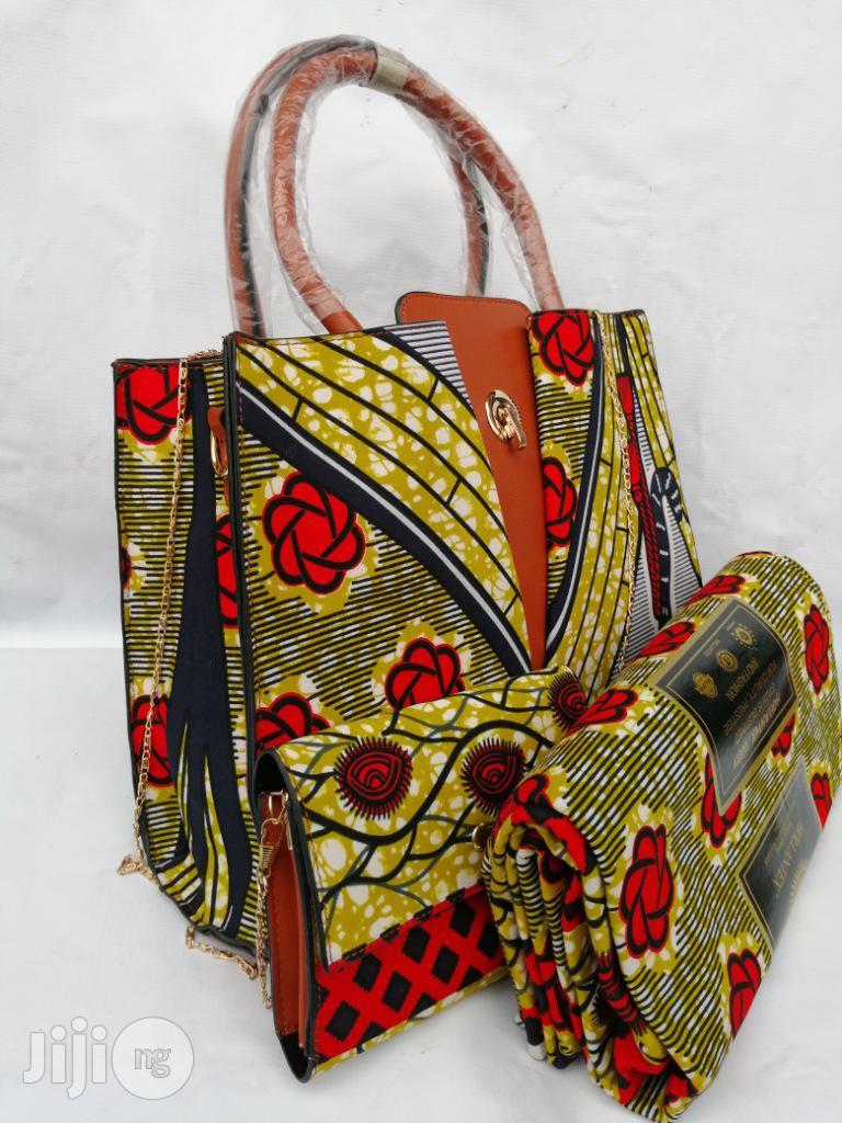 Italian Made Ankara Bags With 6yards Wax and Purse.Needed #Re-Seller/Bulk Buyers XXXVIII