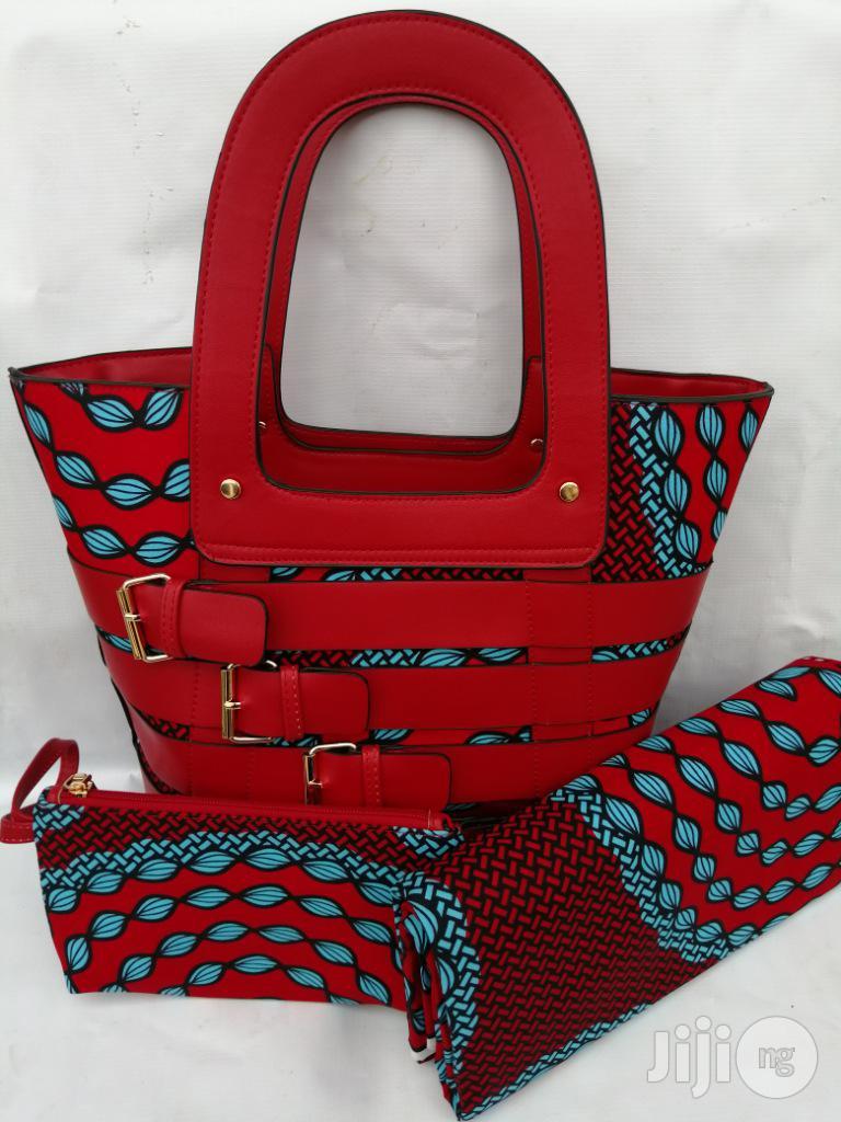 Archive: Italian Made Ankara Bags With 6yards Wax and Purse.Needed #Re-Seller/Bulk Buyers Xliii