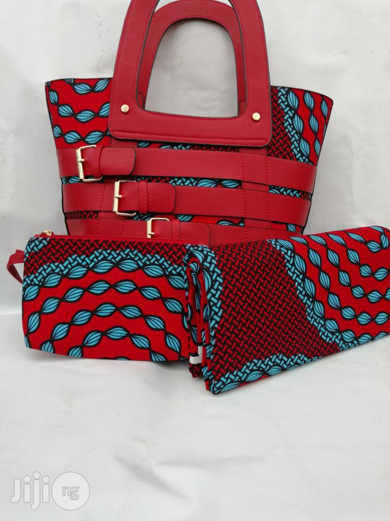Italian Made Ankara Bags With 6yards Wax and Purse.Needed #Re-Seller/Bulk Buyers Xliv