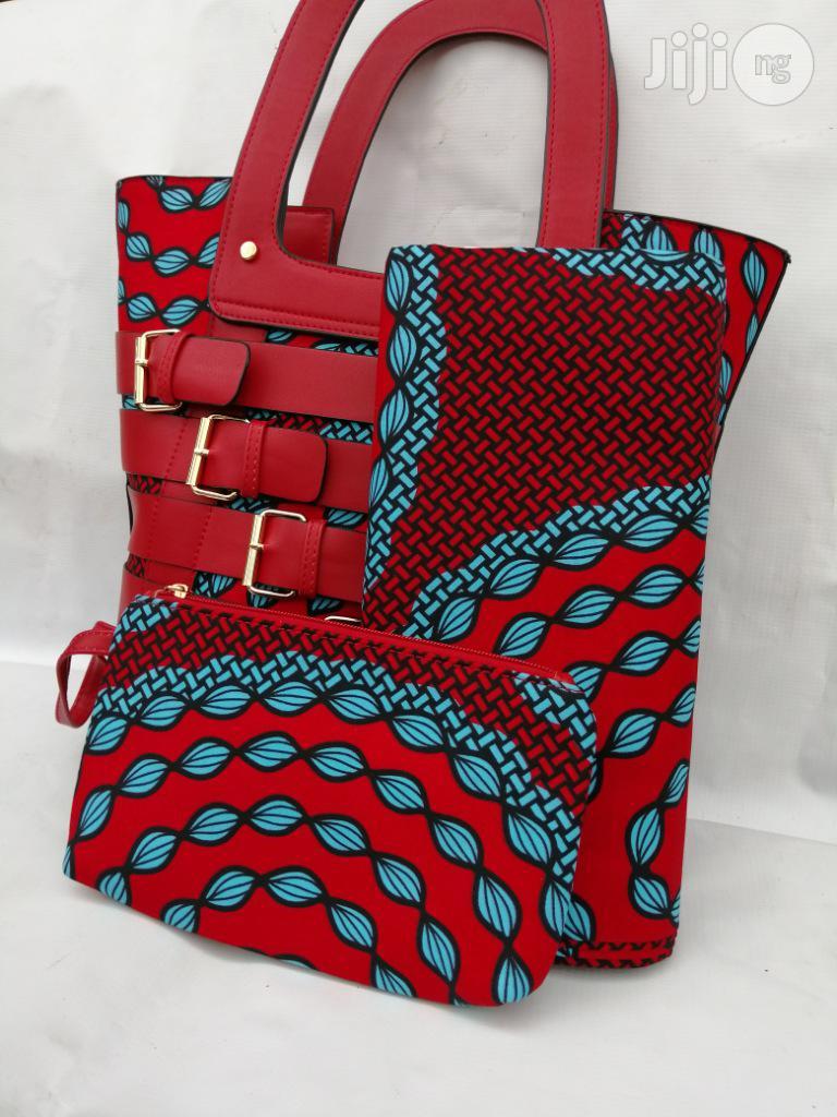 Italian Made Ankara Bags With 6yards Wax and Purse.Needed #Re-Seller/Bulk Buyers Xlvi