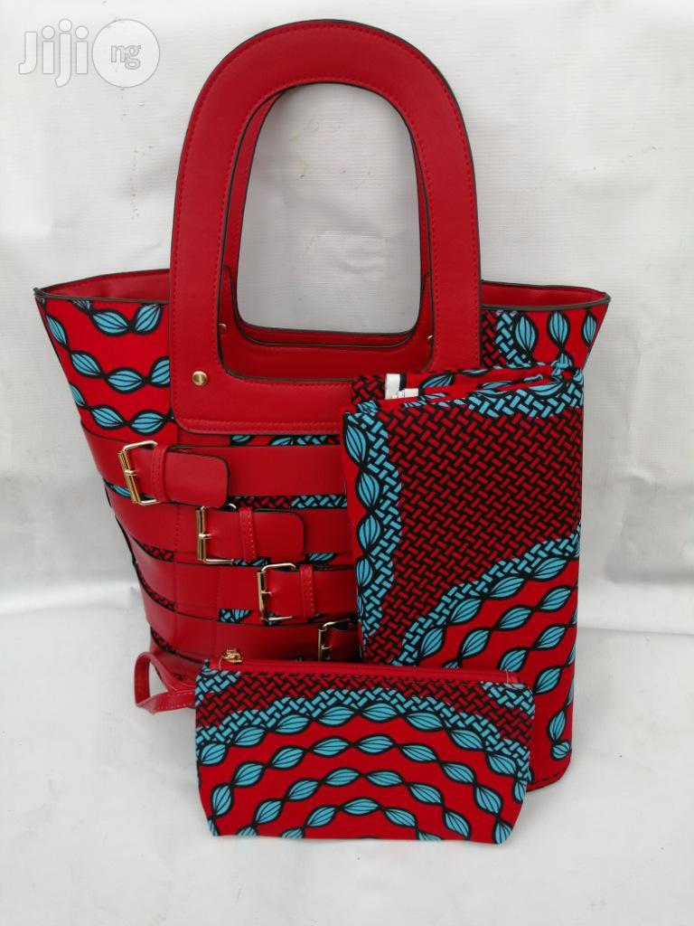 Italian Made Ankara Bags With 6yards Wax and Purse.Needed #Re-Seller/Bulk Buyers Xlvii