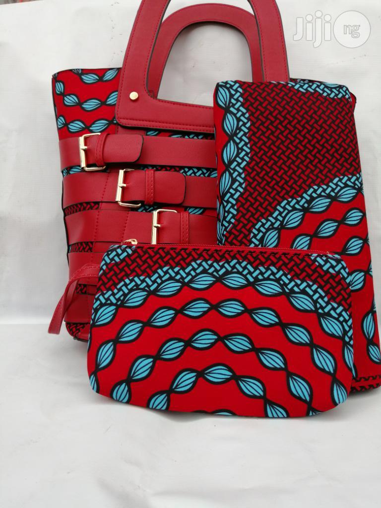 Italian Made Ankara Bags With 6yards Wax and Purse.Needed #Re-Seller/Bulk Buyers Xlviii