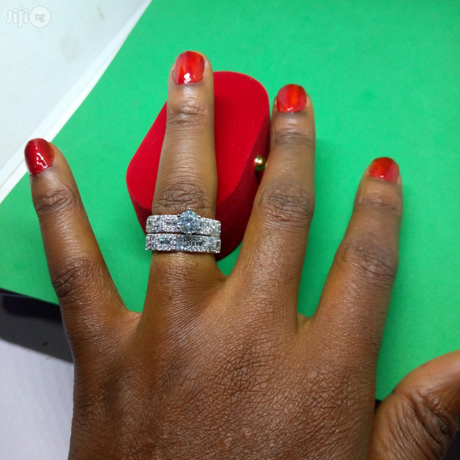 Wedding Ring ASL01 -Silver Rose Gold