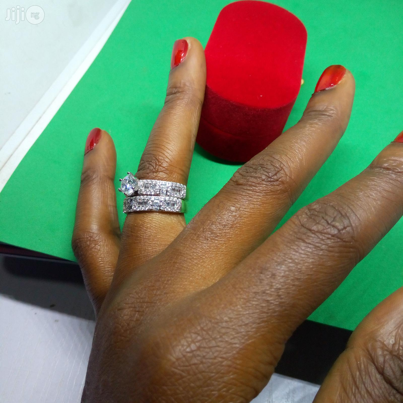 Wedding Ring ASL01 -Silver Rose Gold | Wedding Wear & Accessories for sale in Ikeja, Lagos State, Nigeria