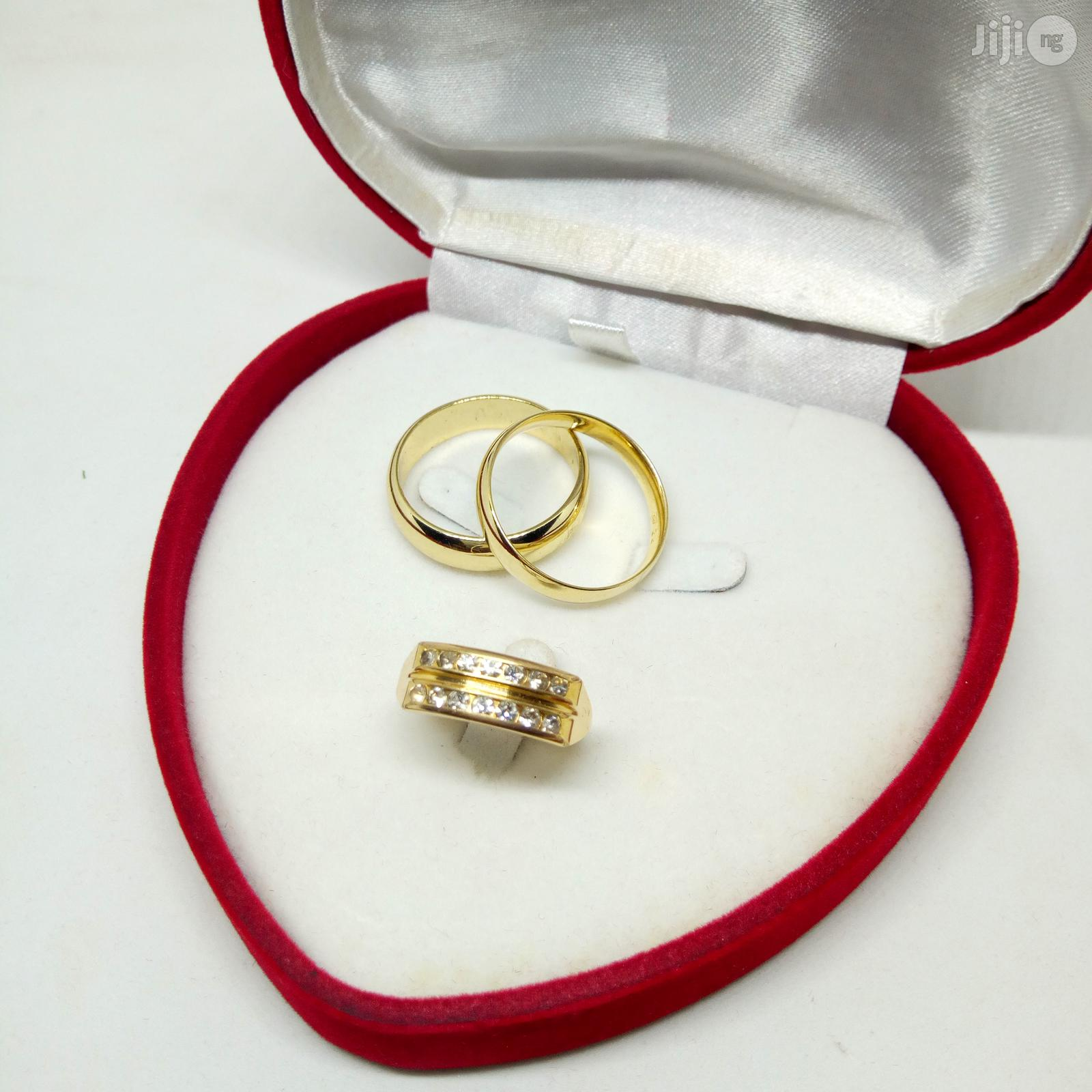Brand New Romania Gold Engagement And Wedding Ring All Sizes Available